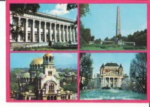 Postal-Postcard 17548: SOFIA BULGARIA - Diferentes vistas de la ciudad de Sofia