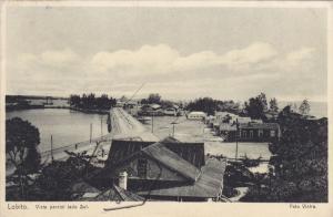 LOBITO, Angola, 1900-1910's; Vista Parcial Lado Sul