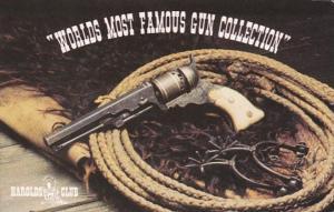 Nevada Reno Harolds Club World Famous Gun Collection 1835 Texas Paterson Revo...