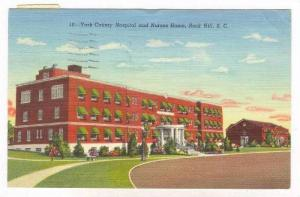 York County Hospital & Nurses Home, Rock Hill, South Carolina, PU-1949