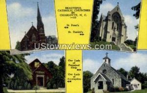 St. Peter's Catholic Church Charlotte NC Unused