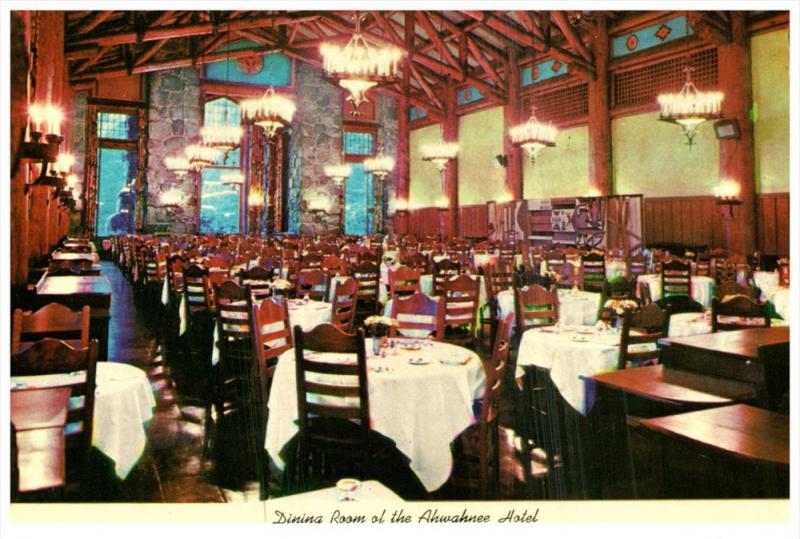 6048 CA Yosemite Nat.park Ahwahnee Hotel Dinning Room