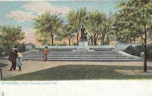 CHICAGO, Illinois, 1901-07; Lincoln Monument, Lincoln Park, TUCK #2206