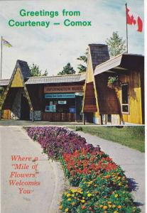 Welcome Center, Greetings from Courtenay-Comox, Vancouver Island, British Col...