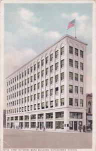 HUTCHINSON , Kansas, 1910s-20s; First National Bank Building