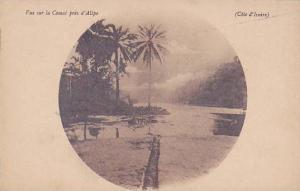 Cote d'Ivoire , Vue sur la Comoe pres d'Alepe , 00-10s