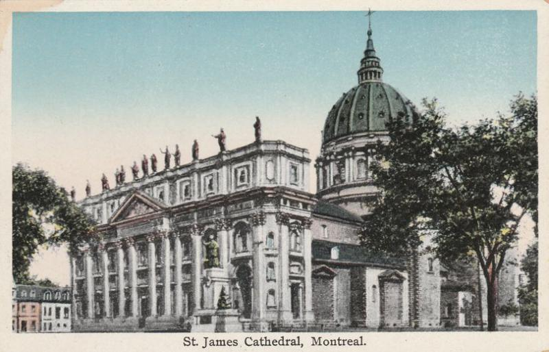 St James Cathedral - Montreal QC, Quebec, Canada - WB