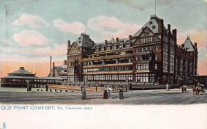 Chamberlin Hotel, Old Point Comfort, Virginia, Very Early Postcard, unused
