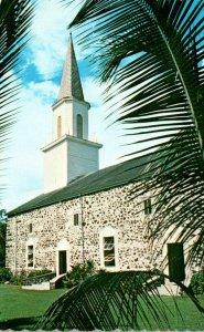 Hawaii Big Island Kona Kailua Mokuaikaua Church