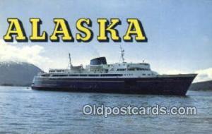 Three Ferries MV Malapina, MV Taku, And The MV Matanuska, Alaska, AK USA Stea...