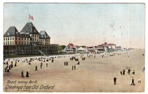 Greetings from Old Orchard, Beach looking North