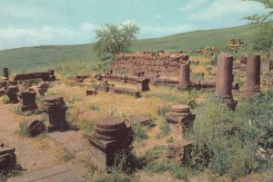 CHORAZIM , 1950-70s ; Ruins of ancient Synagogue
