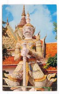 Gaint Guardian at the Temple of Dawn, Bangkok, 40-60s