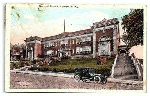 Normal School, Louisville, KY Postcard *7C2