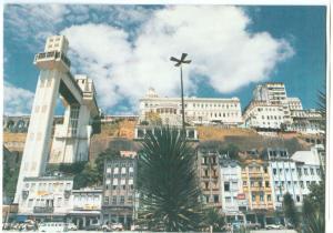 Brazil, Vista do Elevador Lacerda, Salvador, Brasil unused Postcard