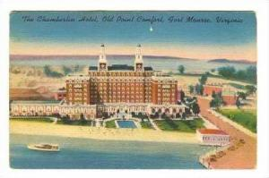 Chamberlin Hotel, Old Point Comfort, Fort Monroe, Virginia, PU-1953