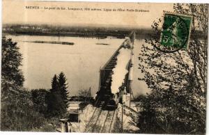 CPA Saumur - Le pont de fer. (165289)
