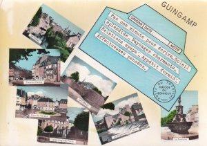 RP; GUINGAMP, Cotes D'Armor, France, 1940s; 7-Views, Lycee Auguste-Pavie, Pla...