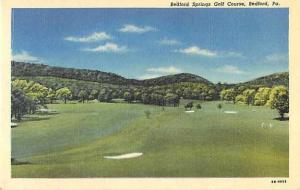 Linen of Bedford Springs Golf Course Bedford Pennsylvania PA