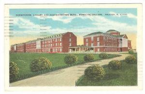 Dormitories, Library and Administration Building, Meredith College, Raleigh, ...