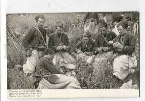 415964 WAR WWI field kitchen ZOUAVES vintage LAPINA #1912 PC