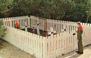Postcard British Cemetery Ocracoke North Carolina