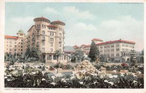 Pasadena California Hotel Green by Detroit Pub antique pc Y11907