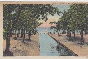 Michigan Cadillac Lake Mitchell And Canal