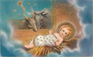 Christmas Baby Jesus Stunning Postcard 04.34