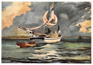 Winslow Homer - Sloop Bermuda