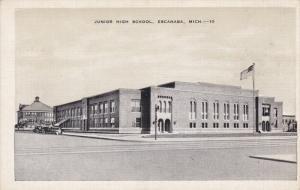 ESCANABA, Michigan, 1930-1940´s; Junior High School
