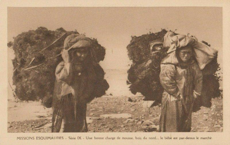 CANADA , 1910s ; Missions Esquimaudes #12