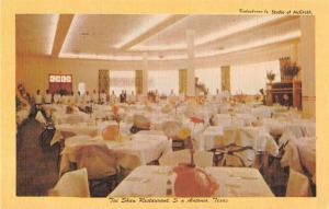 San Antonio Texas Tai Shan Restaurant Antique Postcard J52593