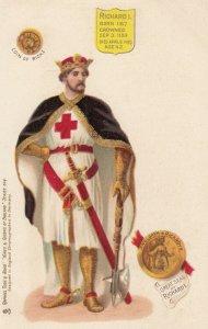 TUCK Kings & Queens of England , Series 614, 1901-07 ; RICHARD I