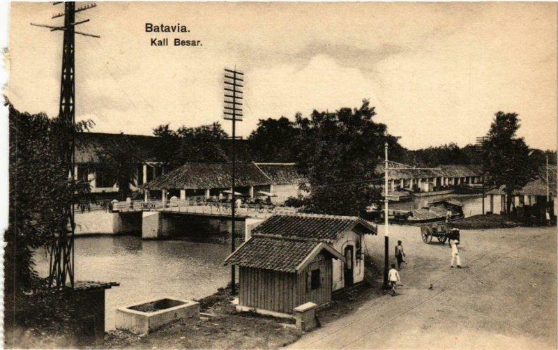 CPA AK BATAVIA Kali Besar INDONESIA (565955)