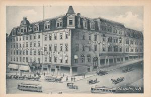 ST JOHN, New Brunswick, Canada, 10-30s ; Royal Hotel
