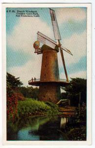 Dutch Windmill, San Francisco CA