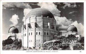 Griffith Observatory Space Los Angeles, CA, USA Unused