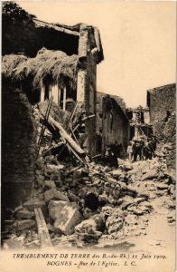 CPA Tremblement de Terre - ROGNES - rue de l'Église (213971)