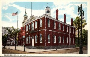 Pennsylvania Philadelphia Congress Hall Curteich