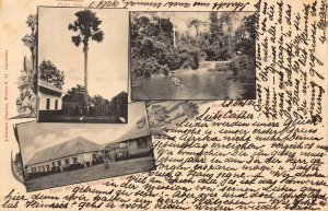 Ghana Gold Coast multi views 1902 Postcard