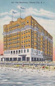 New Jersey Atlantic City The Mayflower Hotel Curteich