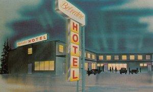 WATSON LAKE, Yukon, Canada, 40-60s; Nugget Restaurant Ltd., Belvedere Hotel
