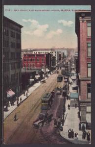 Pike Street,Seattle,WA Postcard