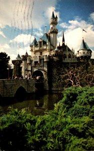 California Anaheim Disneyland Sleepinjg Beauty Castle