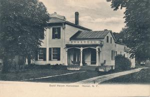 Homer, Cortland County NY, New York - David Harum Homestead - UDB