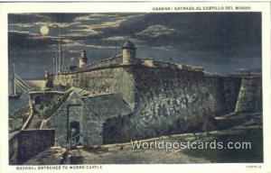 Cuba, Republica De Cuba Havana Entrada al Castillo Del Morro, Morro Castle