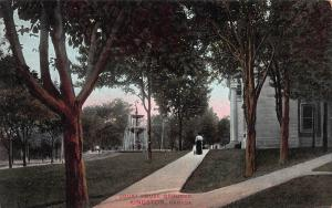 Court House Grounds, Kingston, Ontario, Canada, Early Postcard, unused