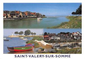 France Saint Valery sur Somme, Bateaux Boats Harbour Panorama Port