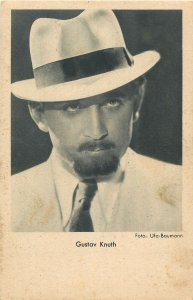 Actor Gustav Knuth Postcard